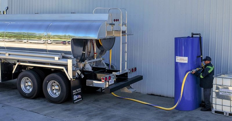 Vesco bulk environmental waste truck